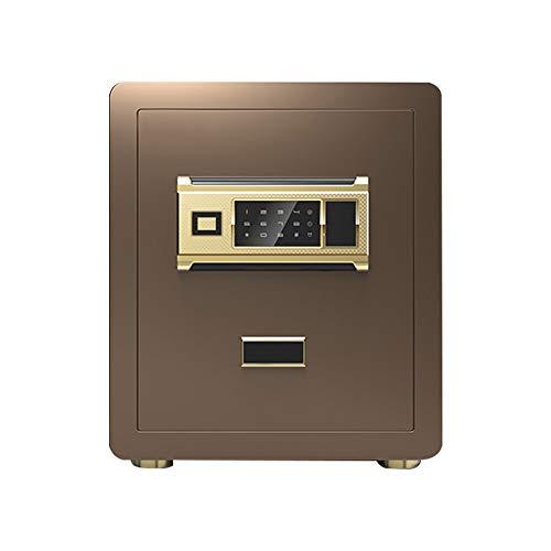 Baianju Safe Household Small Small Steel Fingerprint Password Office Safe Anti-Theft Bed Mini Safe Box New Anti-Storage Safe Box into The Closet