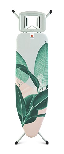 - Brabantia Board, Solid Steam Iron Rest, Size B, Tropical Leaves