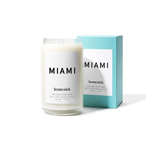 Homesick Scented Candle, Miami ()