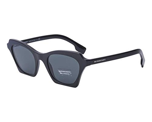 (Burberry Women's 0BE4283 Black/Grey One Size)