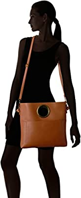 T-Shirt & Jeans Ring Bag Satchel with Cross Body Strap