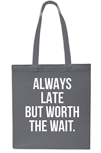 litres Gym 42cm Always Grey Shopping Late Bag Beach Wait Grey Worth 10 But The Tote x38cm wO0wpqC