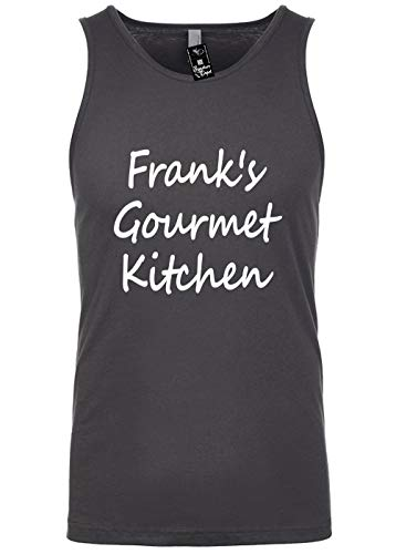 Mens Funny Tank Top T-Shirt Unisex Size 2X (Frank's Gourmet Kitchen (Cook Chef)