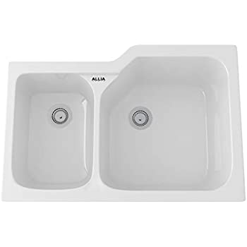 Rohl 6337 00 Fireclay Kitchen Sinks 33 Inch By 22 Inch