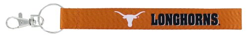 Ring Texas Key Ncaa Longhorns (aminco NCAA Texas Longhorns Wristlet Key Ring)