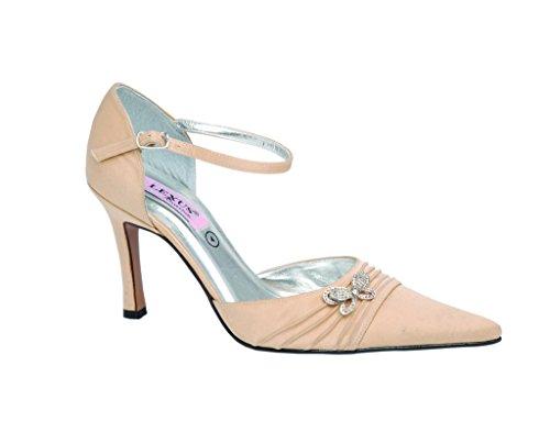 LEXUS - Sandalias de vestir para mujer Beige - Cream