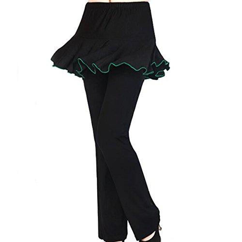 Mujeres Verano De Gran Tamaño Flojo Buen Ajuste Flex El Baile El Basculador Medias Pantalones De Entrenamiento De Fitness De Yoga 11
