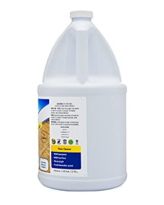 Sheiner's Floor Cleaner Concentrate, All-Purpose Multi-Surface, 1 Gallon (Makes Up To 128 Gallons)