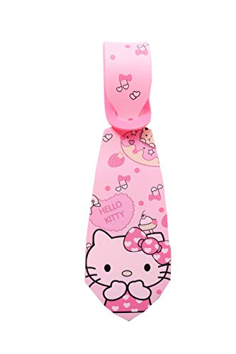 Super Cute Kawaii Cartoon Silicone Travel Luggage ID Tag Tie for Bags (Hello Kitty Luggage Tie) ()