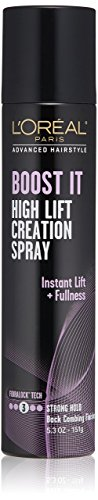 L'Oréal Paris Advanced Hairstyle BOOST IT High Lift Creation Spray, 5.3 oz.