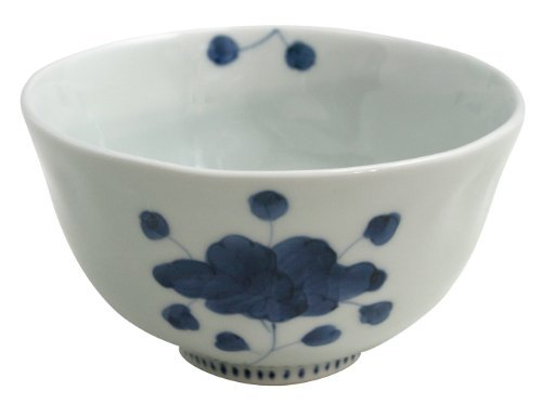 Peony-M Arita-yaki 4.5inch Ricebowl Porcelain Made in Japan (Serving Plate Peony Round)