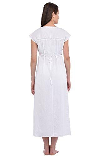 Bianco Lane Notte Da Camicia Plus Size Reproduction In Cotton wt Cotone Vintage N288 qxSw6dntYp