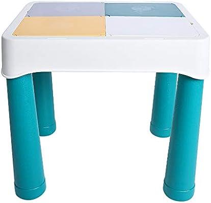 Juego de mesa de actividades para niños Juego educativo de construcción desmontable portátil para niños pequeños, de educación temprana para niños pequeños: Amazon.es: Bebé