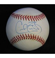 Powers Collectibles Signed Fielder, Cecil American League...