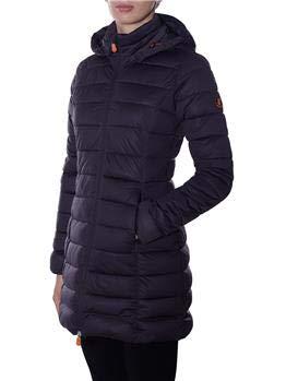 designer fashion 89844 521e5 SAVE DUCK Piumino Save The Duck Donna Grey Black: Amazon.it ...