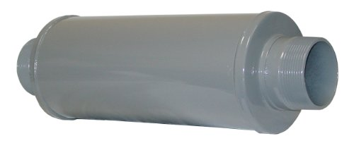 Solberg SLCRT400 Absorptive Silencers, 4'' MPT Inlet/Outlet, 29-5/16'' Height, 980 SCFM by Solberg
