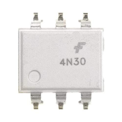 4N30SM ON Semiconductor Isolators Pack of 100 (4N30SM)
