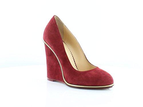 charlotte olympia Carmen Women's Heels Burgundy Size 7.5 M