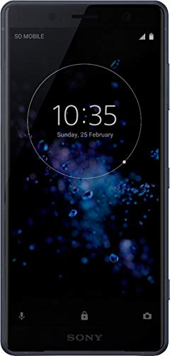 Sony Xperia XZ2 Compact H8314 64GB 5.0' Factory Unlocked Smartphone International Version 4G LTE (Black)