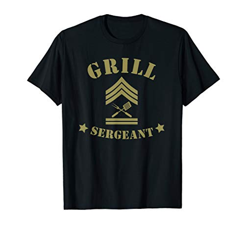 - Grill Sergeant Shirts for Men Father's day Gift