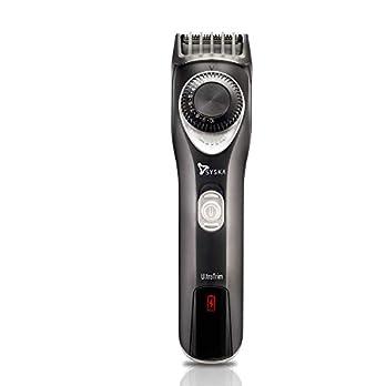 SYSKA Ht750 Running Time 90Mins Ultratrim Beard Trimmer for Men (Black Silver)