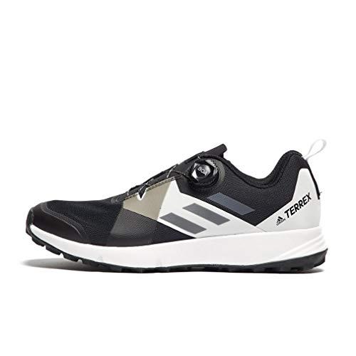 - adidas Terrex Two Boa Trail Running Shoes - AW19-9.5 - Black