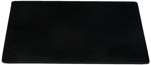 Dacasso Black Leatherette Conference Table or Desk Pad, 24 by 19-Inch