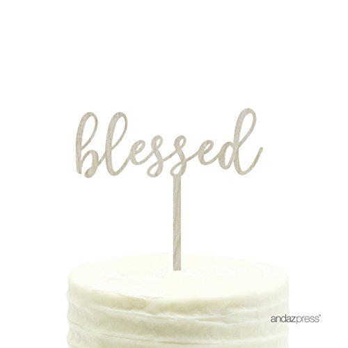 Top recommendation for blessed cake topper baptism