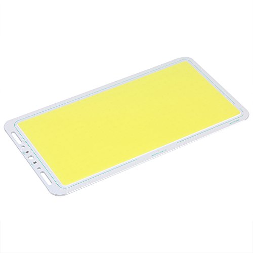 Zerodis Panel Dome Map Lights, 12V 70W 7000lm COB Panel Light LED Strip Shape Lamp Soft & Balanced Lighting Fixture(White)