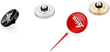EWOOP LR-B De Metal Rojo de latón botón disparador cóncavo diseñado para Leica M8,