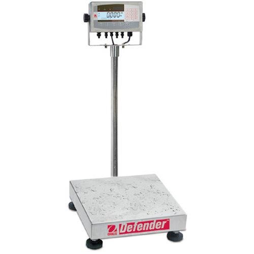 - Bench Floor Scale D71XW100WL4 Defender 7000 Square base 250 x 0.02 lb