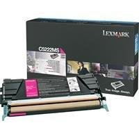 Lexmark - C5222MS Toner, 3000 Page-Yield, Magenta