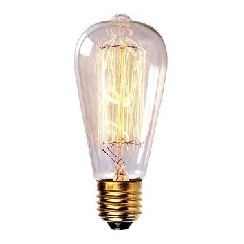 60 Watt Nostalgia Era Squirrel Cage Filament Bulb