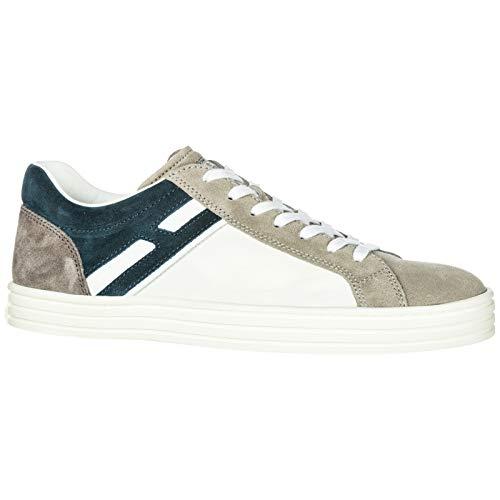 r141 vintage Hogan suede Rebel men's sneakers trainers shoes grey Ba4wzSq4Yn