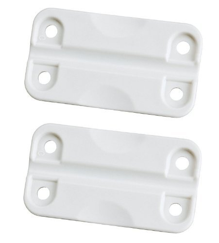 Igloo White Hinges for Ice Chests (Igloo Cooler Replacement)