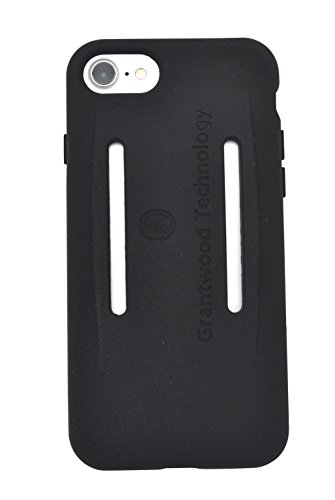 TuneBand for iPhone 7, Premium Sports Armband with Two Straps and Two Screen Protectors, BLACK by Grantwood Technology (Image #2)