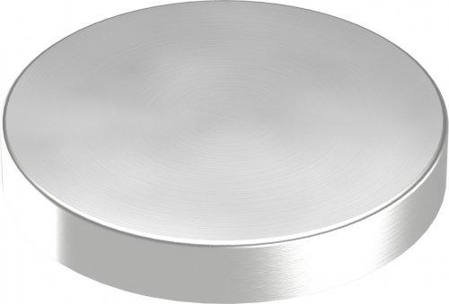 Abdeckrosette 76 x 12mm, Wandstärke 1mm, ohne Bohrung Wandstärke 1mm edelstahlonline24