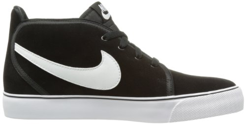 Nike Toki Suede Leather Mid Top Mens Skate Shoe, Black