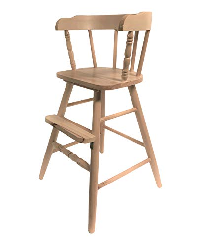 Solid Wood Sargent's Youth Chair with Several Finish Options (Clear Coat) ()