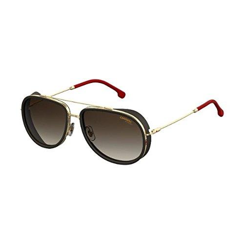 Carrera Men's 166/s Aviator Sunglasses, Gold Red, 59 (166 Sunglasses)