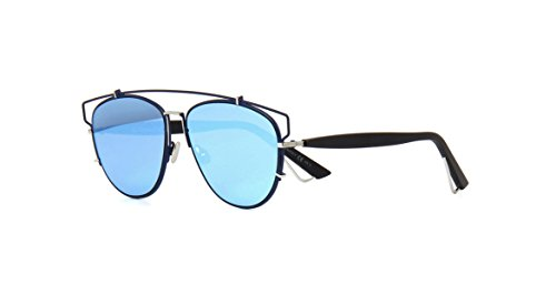 Dior PQU Blue Black Technologic Aviator - Sunglasses Dior Blue