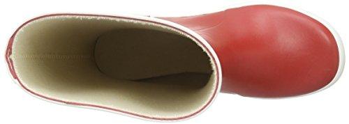Bergstein Bn Rainbootr Unisex-Kinder Gummistiefel Rot (Red)