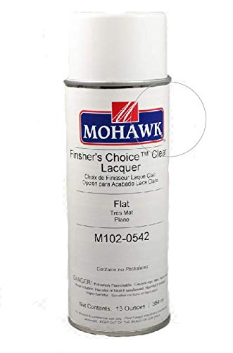 (Mohawk Finishing Products Finisher's Choice Clear Nitrocellulose Lacquer - Flat)