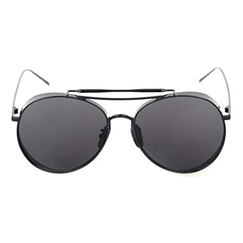 Lens Gold Diap de 100 Black Color polarizadas Sol Gafas de Lentes Sakuldes Lens para Frame UV400 Aluminio Pink de Black Hombres Frame Tzv6xR5q