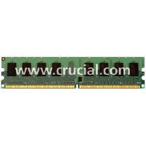 CT25664AA667 D-RAM, 2GB, DDR2, 240-pin DIMM Crucial Storage (Nm10 Mini)