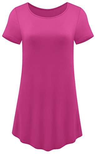 ize Loose Fit Tunic Top T Shirt XX-Large Rose Red (20 Red Roses)