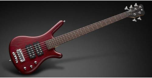 Warwick Rock Bass Corvette $$ 5-String Electric Bass Guitar (Burgundy Red)