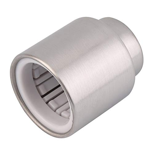 HGJVBFGH1 Stainless Steel Sealed Pump Champagne Cork Wine Storage Bottle Stopper Cap Silver