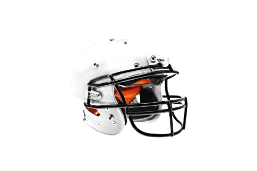 Schutt Sports Youth FB Recruit Hybrid Plus Helmet, White, Medium