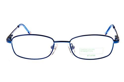 Benetton Kinder Brillengestell 458 L02, Farbe:Blau
